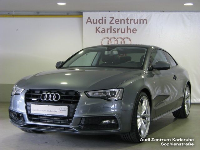 verkauft audi a5 coup gebraucht 2015 km in karlsruhe. Black Bedroom Furniture Sets. Home Design Ideas