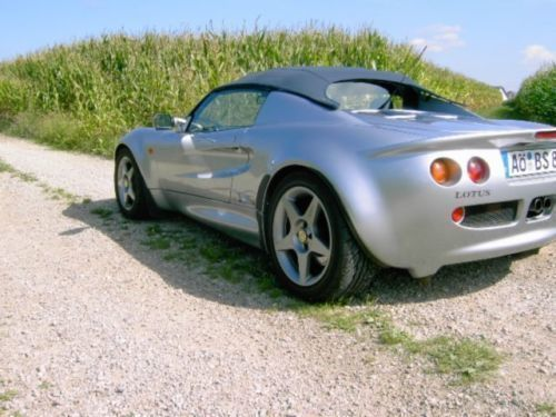 verkauft lotus elise mit honda k20a gebraucht 1999 km in bergkirchen. Black Bedroom Furniture Sets. Home Design Ideas