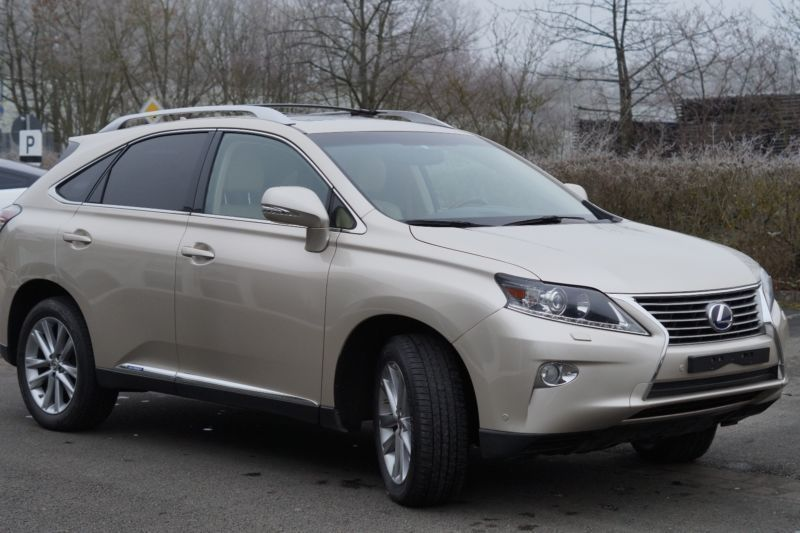 gebraucht hybrid drive f sport pdc xenon hud navi lexus rx450h 2013 km in rathenow. Black Bedroom Furniture Sets. Home Design Ideas