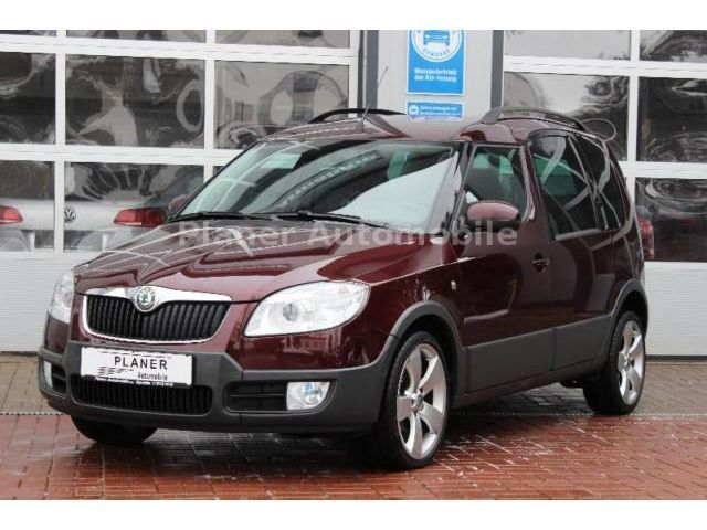 verkauft skoda roomster scout leder ah gebraucht 2010 km in apolda. Black Bedroom Furniture Sets. Home Design Ideas