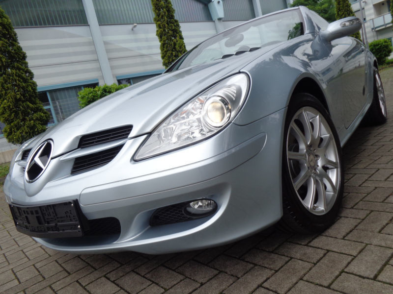 verkauft mercedes slk200 kompressor na gebraucht 2007 km in bottrop. Black Bedroom Furniture Sets. Home Design Ideas