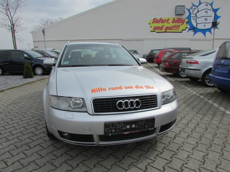 verkauft audi a4 avant 2 5 tdi quattro gebraucht 2004 km in ludwigshafen. Black Bedroom Furniture Sets. Home Design Ideas