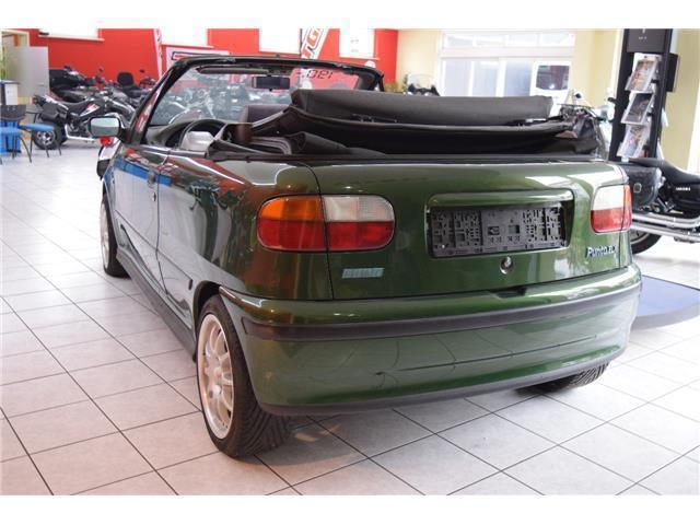 verkauft fiat punto cabriolet 90 elx gebraucht 1995 km in sondershausen. Black Bedroom Furniture Sets. Home Design Ideas
