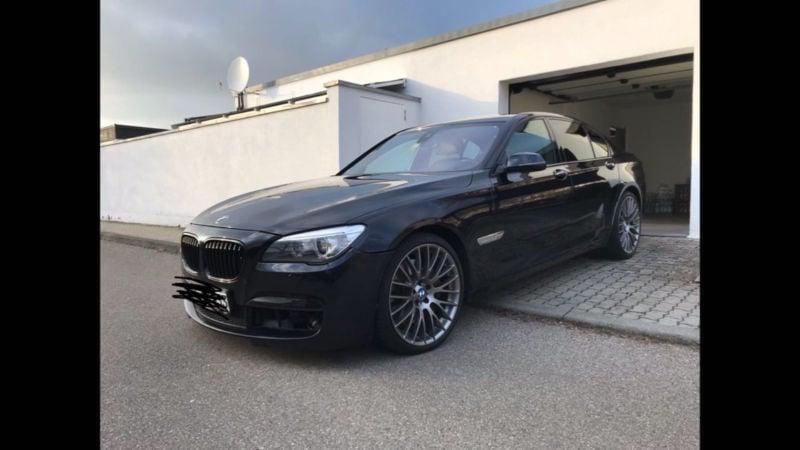 1 Gebraucht BMW 750 Baureihe 7 D XDrive M Paket