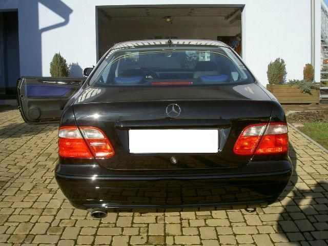 verkauft mercedes clk230 clk coupe 230 gebraucht 2001 km in bergtheim. Black Bedroom Furniture Sets. Home Design Ideas