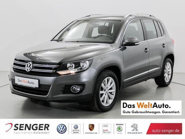 gebraucht VW Tiguan 2.0 TDI Navi AHK Tempomat BMT Lounge Spor