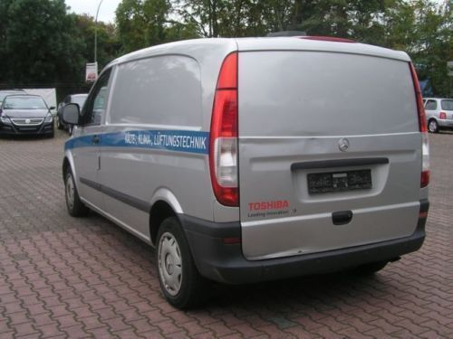 verkauft mercedes vito 109 cdi extrala gebraucht 2007 km in rosbach. Black Bedroom Furniture Sets. Home Design Ideas