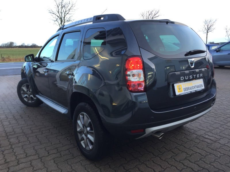 verkauft dacia duster tce 125 4x4 pres gebraucht 2016 km in osterhever. Black Bedroom Furniture Sets. Home Design Ideas