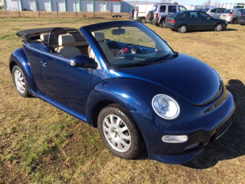 verkauft vw beetle newcabriolet 1 9 td gebraucht 2004 km in heubach. Black Bedroom Furniture Sets. Home Design Ideas