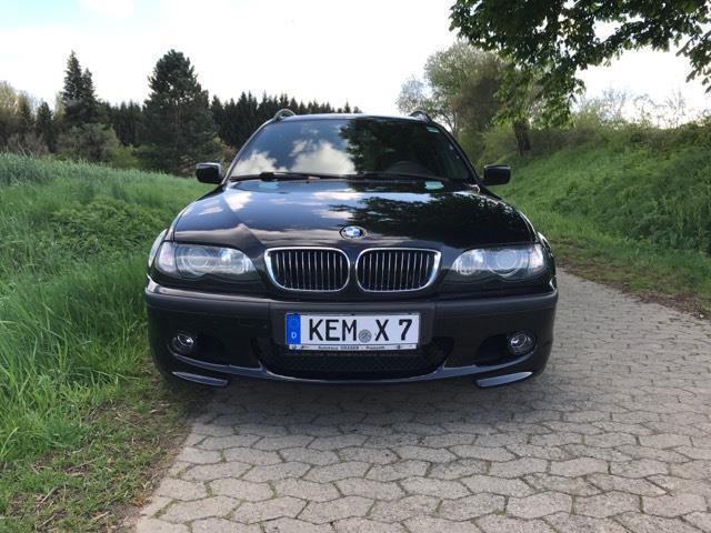 verkauft bmw 320 3er touring m paket t gebraucht 2003 km in erbendorf. Black Bedroom Furniture Sets. Home Design Ideas