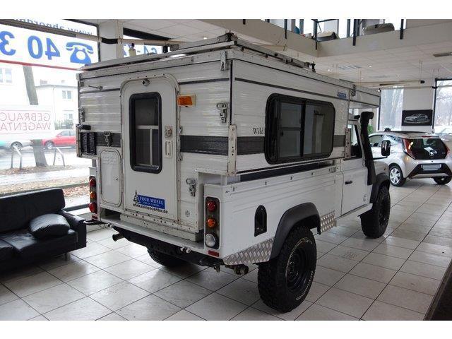 Gebraucht Land Rover Defender 110 Pick Up E Camper Wohnmobil
