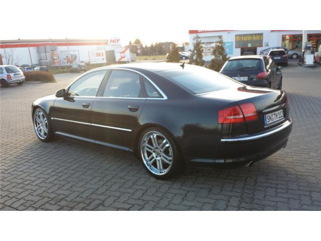 verkauft audi a8 4 2 quattro gasanlage gebraucht 2005 km in altstadt. Black Bedroom Furniture Sets. Home Design Ideas