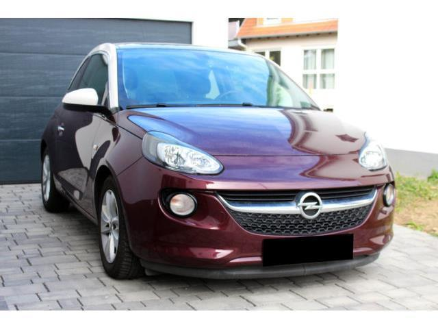 Gebraucht Opel Adam 1 4 Glam Berry Red