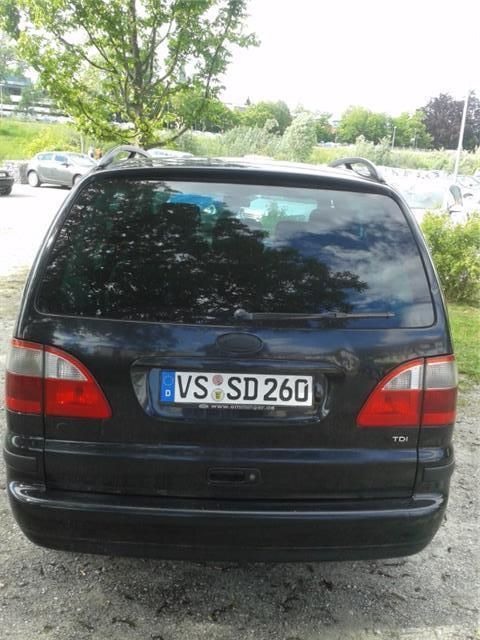 verkauft ford galaxy tdi gebraucht 2000 km in vs schwenningen. Black Bedroom Furniture Sets. Home Design Ideas