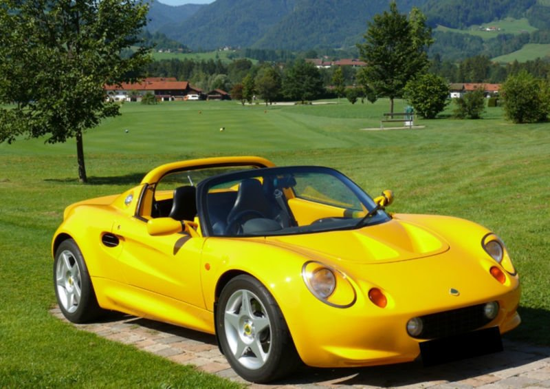 verkauft lotus elise 111 s1 postauto gebraucht 1997 km in berlin. Black Bedroom Furniture Sets. Home Design Ideas