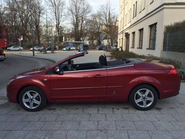 verkauft ford focus cabriolet trend kl gebraucht 2008 km in m nchen. Black Bedroom Furniture Sets. Home Design Ideas