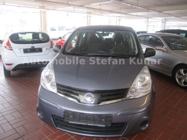 verkauft nissan note 1 4 klima aux ans gebraucht 2010. Black Bedroom Furniture Sets. Home Design Ideas