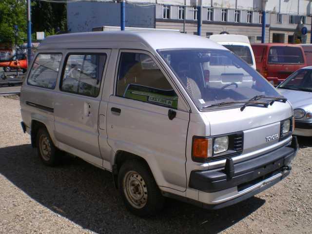 Verkauft Toyota LiteAce Fensterbus Be., gebraucht 1988, 141.000 km in