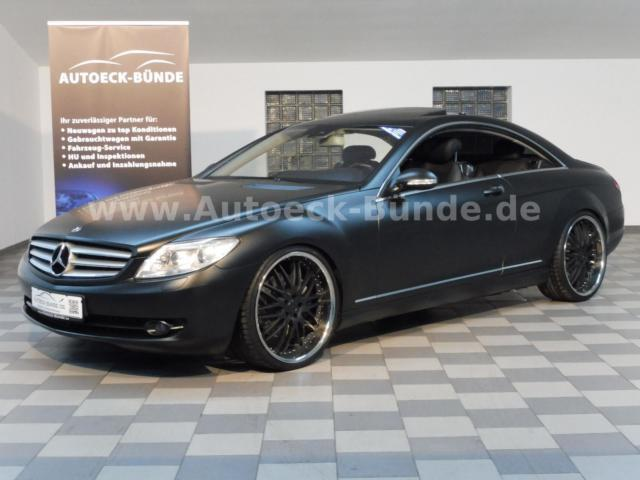 verkauft mercedes cl500 cl coupe 500 m gebraucht 2006. Black Bedroom Furniture Sets. Home Design Ideas