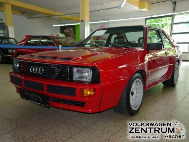 verkauft audi sport quattro urquattro gebraucht 1984 km in aachen. Black Bedroom Furniture Sets. Home Design Ideas