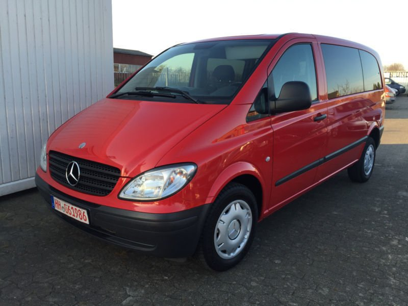 verkauft mercedes viano vito 3 0 cdi a gebraucht 2007 km in hamburg. Black Bedroom Furniture Sets. Home Design Ideas