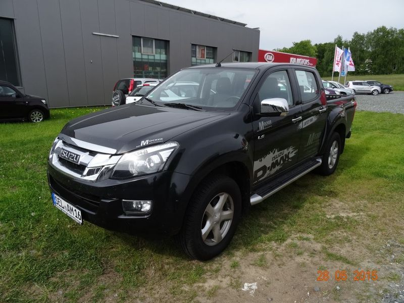 verkauft isuzu d max double cab 4x4 gebraucht 2014 25. Black Bedroom Furniture Sets. Home Design Ideas