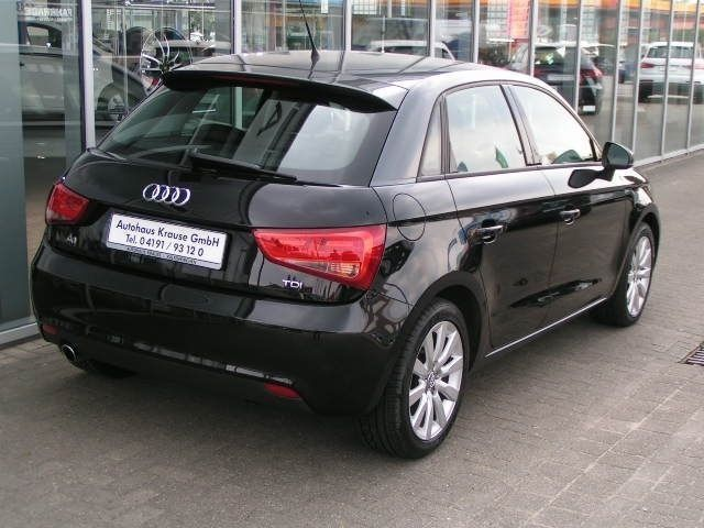 verkauft audi a1 sportback 1 6 tdi amb gebraucht 2014. Black Bedroom Furniture Sets. Home Design Ideas