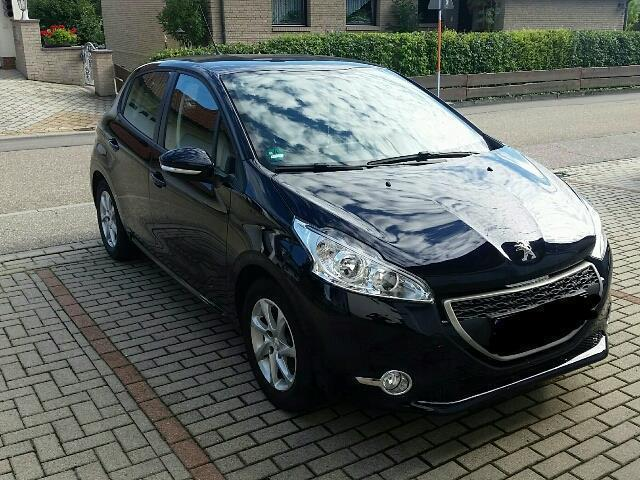 verkauft peugeot 208 hdi 68 active gebraucht 2014 km in hringen. Black Bedroom Furniture Sets. Home Design Ideas