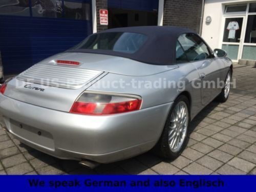 verkauft porsche 996 cabrio 3 4 erstla gebraucht 2001 km in havixbeck. Black Bedroom Furniture Sets. Home Design Ideas