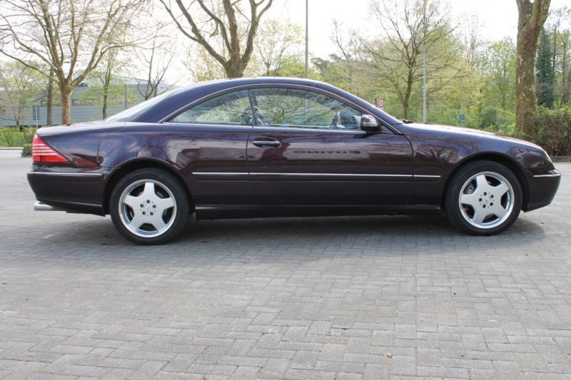 gebraucht lorinser kopmlettumbau unikat mercedes cl500 2002 km in senden. Black Bedroom Furniture Sets. Home Design Ideas
