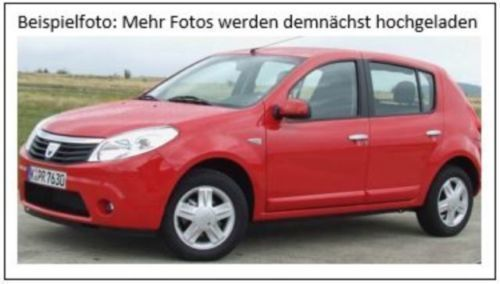 verkauft dacia sandero 1 2 16v gebraucht 2012 km in nu loch. Black Bedroom Furniture Sets. Home Design Ideas