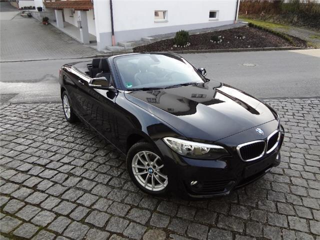 verkauft bmw 220 d cabrio gebraucht 2015 km in hunderdorf. Black Bedroom Furniture Sets. Home Design Ideas