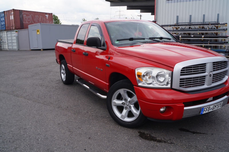 verkauft dodge ram gebraucht 2007 km in olching autouncle. Black Bedroom Furniture Sets. Home Design Ideas