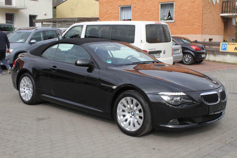 verkauft bmw 635 cabriolet gebraucht 2009 km in frankfurt am main. Black Bedroom Furniture Sets. Home Design Ideas
