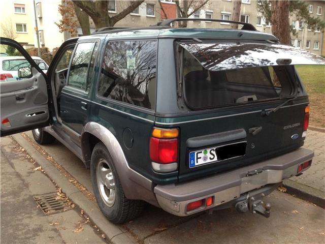 verkauft ford explorer 4 0 v6 highclass gebraucht 1997 km in mainz kostheim. Black Bedroom Furniture Sets. Home Design Ideas