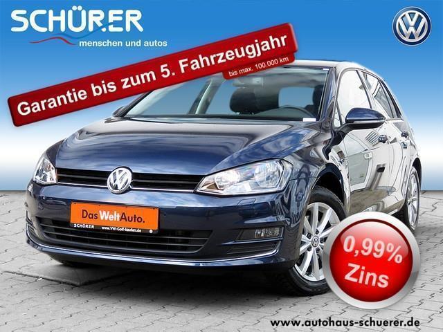 gebraucht VW Golf VII 2.0TDI Lounge Navi 5JGarantie MFLenkrad KLIMA