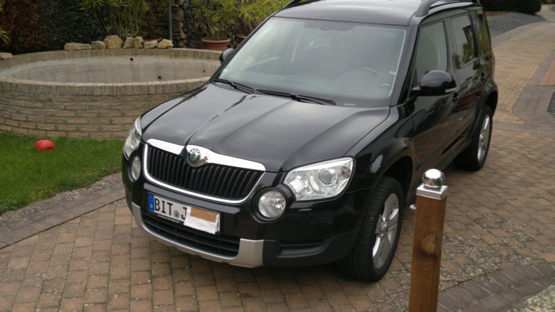 verkauft skoda yeti 2 0 tdi 4x4 experi gebraucht 2011 km in irrel. Black Bedroom Furniture Sets. Home Design Ideas