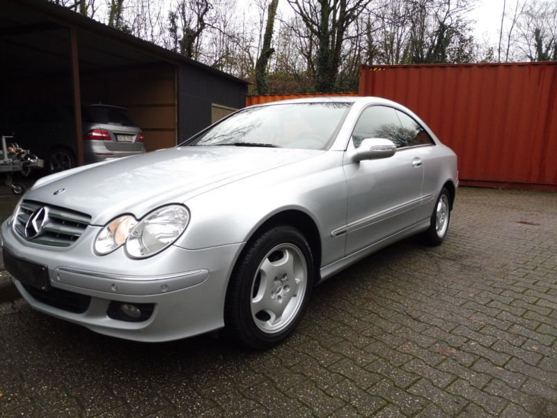 verkauft mercedes clk280 clk coupe 1 gebraucht 2006. Black Bedroom Furniture Sets. Home Design Ideas