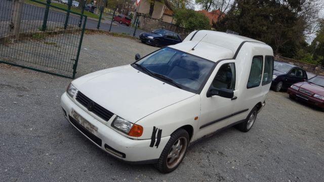 verkauft vw caddy 1 4 9k9ad6 lkw gebraucht 2001 km in dresden. Black Bedroom Furniture Sets. Home Design Ideas
