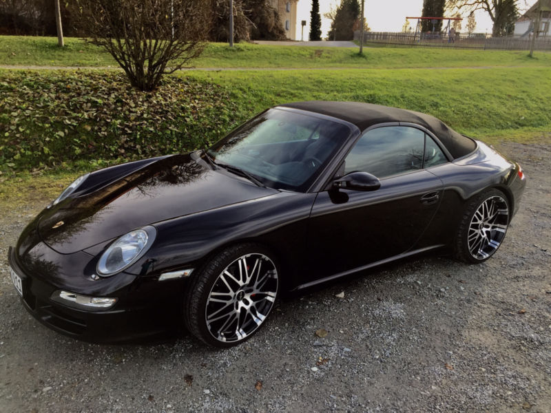 verkauft porsche 911 carrera cabriolet gebraucht 2007 km in hanstedt. Black Bedroom Furniture Sets. Home Design Ideas