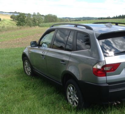 verkauft bmw x3 3 0 d allrad gebraucht 2004 km. Black Bedroom Furniture Sets. Home Design Ideas