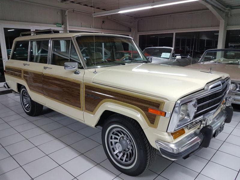 wagoneer gebrauchte jeep wagoneer kaufen 4 g nstige. Black Bedroom Furniture Sets. Home Design Ideas