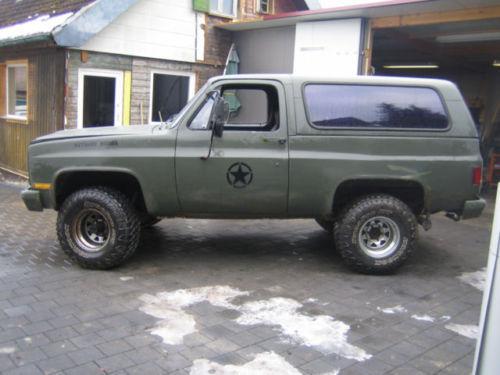 Verkauft Chevrolet Blazer K5 M1009 Ex Gebraucht 1984 74 444 Km In Bonstetten