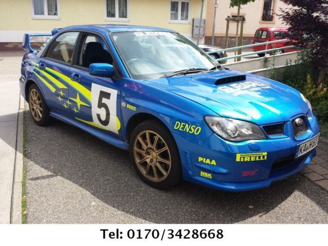 verkauft subaru impreza wrx sti rechts gebraucht 2006 km in kraichtal. Black Bedroom Furniture Sets. Home Design Ideas