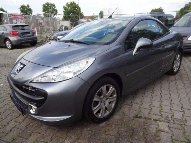 verkauft peugeot 207 cc 120 vti sport gebraucht 2008 km in viernheim. Black Bedroom Furniture Sets. Home Design Ideas
