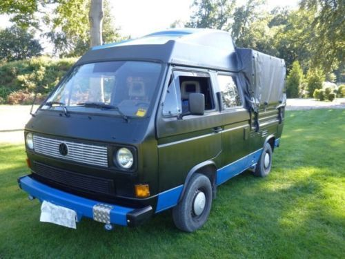 verkauft vw t3 doka mit hochdach ausb gebraucht 1988 km in brackwede. Black Bedroom Furniture Sets. Home Design Ideas