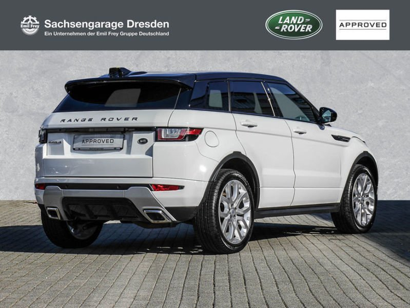 verkauft land rover range rover evoque gebraucht 2017 km in dresden. Black Bedroom Furniture Sets. Home Design Ideas