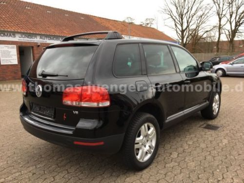 verkauft vw touareg 3 2 v6 tiptronic a gebraucht 2003 km in friedeburg. Black Bedroom Furniture Sets. Home Design Ideas