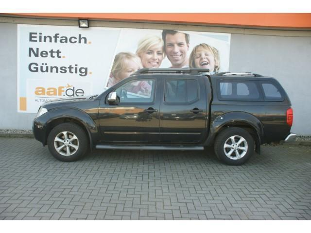 verkauft nissan navara 2 5 dci double gebraucht 2010. Black Bedroom Furniture Sets. Home Design Ideas