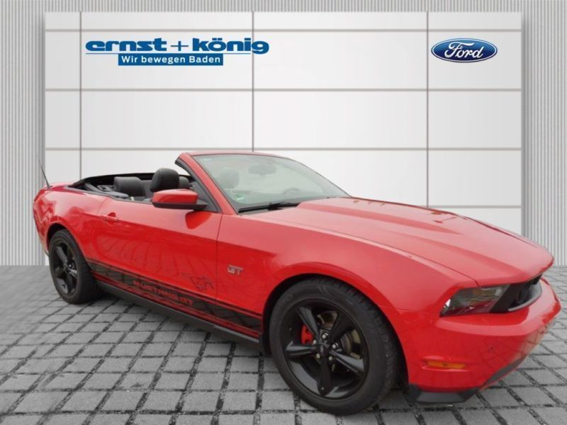 verkauft ford mustang gt gt v8 cabrio gebraucht 2010 km in bergisch gladbach. Black Bedroom Furniture Sets. Home Design Ideas